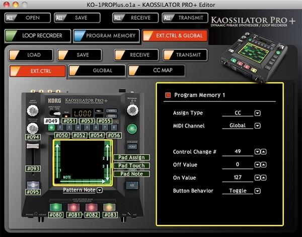 Kaossilator Pro +