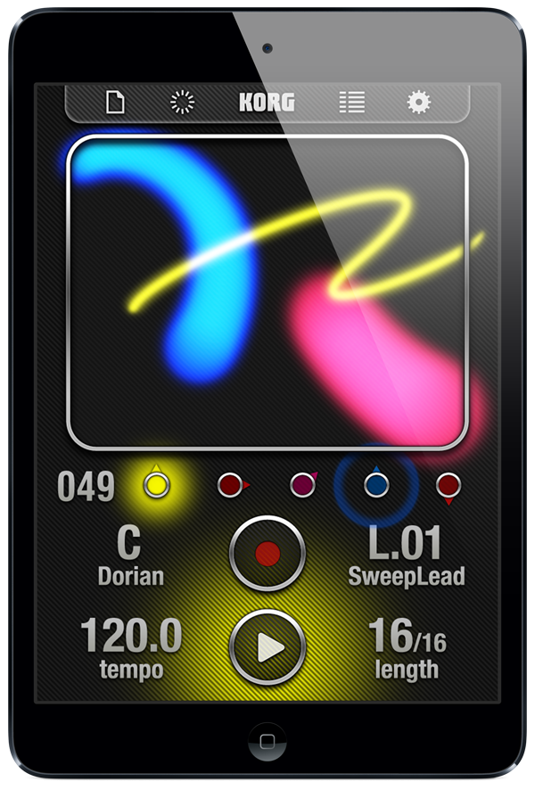 iKaossilator for iPad